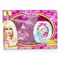 AIR VAL INTERNATIONAL Barbie Coffret: Eau De Toilette Spray 100ml/3.4oz + Shower Gel & Shampoo 300ml/10.2oz For Women
