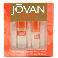 COTY Jovan Musk Ladies- 2 Oz Col Sp/ 1 Oz Col Sp