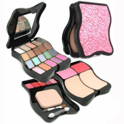Pretty Fashion Makeup Kit 62201: 2x Powder+ 2x Blush+ 20x Eyeshadow+ 5x Lip Color+ 3x Applicator