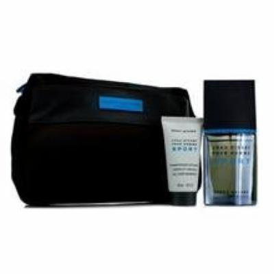 Issey Miyake L'eau D'issey Pour Homme Sport Coffret: Edt Spray 50ml/1.6oz + All Over Shampoo 50ml/1.6oz + Bag For Men