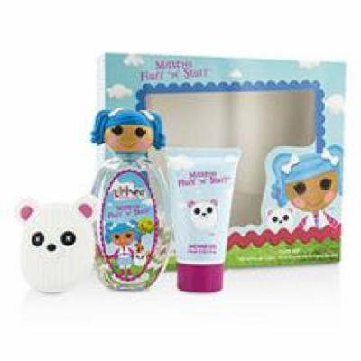 Lalaloopsy Mittens Fluff 'n' Stuff Cute Coffret: Eau De Toilette Spray 100ml/3.4oz + Shower Gel 75ml/2.5oz + French Barr