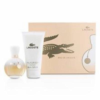 Lacoste Eau De Lacoste Coffret: Eau De Parfum Spray 90ml/3oz + Body Lotion 150ml/5oz For Women