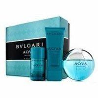 Bvlgari Aqva Pour Homme Marine Coffret: Eau De Toilette Spray 100ml/3.4oz + Deodorant Stick 75g/2.7oz + After Shave Emul