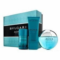 Bvlgari Aqva Pour Homme Marine Coffret: Eau De Toilette Spray 100ml/3.4oz + Deodorant Stick 75g/2.7oz + After Shave Emul