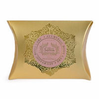 Set of 6 SpaVeda Many Blessings Pink Opal Body Bar Soap 4.4 oz.