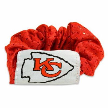 Kansas City Chiefs Official NFL Hair Twist Ponytail Holder Little Earth 089870