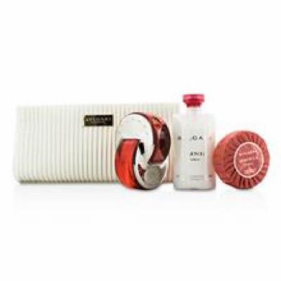 Bvlgari Omnia Coral Coffret: Eau De Toilette Spray 65ml/2.2oz + Soap 75g/2.6oz + Body Lotion 75ml/2.5oz + Pouch For Wome