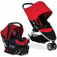 Britax S03803500 B-Agile 3 B-Safe 35 Travel System - Red