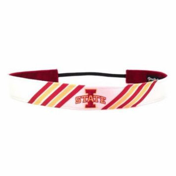 One Up Bands 1441 NCAA Iowa State Stripes Headband - Pack of 2