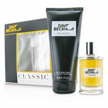 DAVID BECKHAM Classic Coffret: After Shave Lotion 60ml/2oz + Hair & Body Wash 200ml/6.7oz For Men