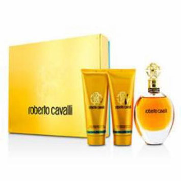 Roberto Cavalli (new) Coffret: Eau De Parfum Spray 75ml/2.5oz + Body Lotion 75ml/2.5oz + Shower Gel 75ml/2.5oz For Women