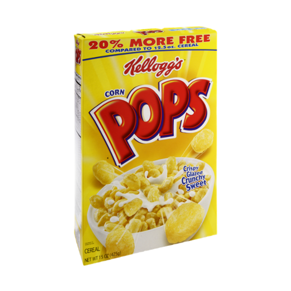 Kellogg's Corn Pops Cereal Reviews 2019