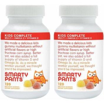 Smartypants Children's All-in-one Multivitamin Plus Omega-3 Plus Vitamin D, 2 Count