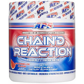 Chain'd Reaction - The Ultimate BCAA Amino Acid Recovery Aid for Muscle Growth, Watermelon, 300 Gram
