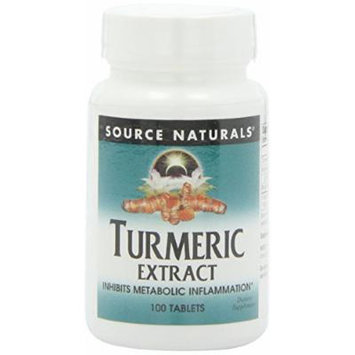 Source Naturals Turmeric Extract Tablets, 200 Count