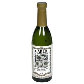 Garlic Expressions Classic Vinaigrette Salad Dressing & Marinade (Pack of 12)