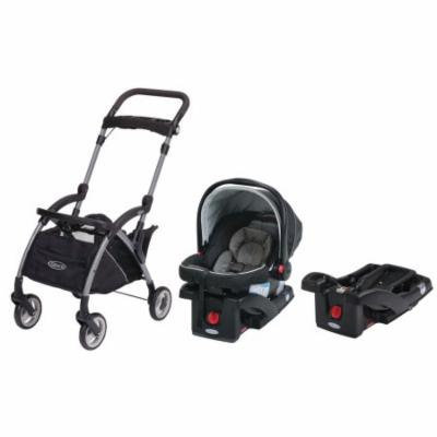 Graco SnugRide 30 LX Click Connect Car Seat with Car Seat Carrier & Extra Car Seat Base, Banner