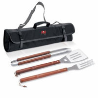 Picnic Time 3-Piece BBQ Tote, Tampa Bay Buccaneers Digital Print