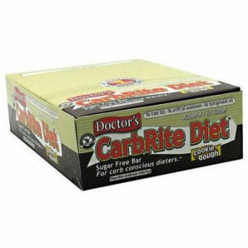 Universal Nutrition Doctor's CarbRite Diet Cookie Dough Bars, 2.00 oz, 12 count