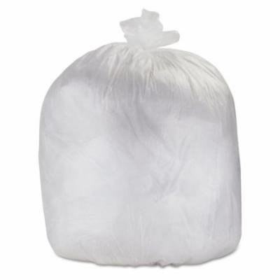 High-Density Can Liners, 30 x 36, 30-Gallon, 0.6 Mil, Clear, 500/CT