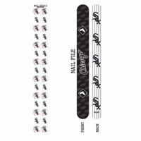 Bundle 2 Items: Chicago White Sox Nail File and Nail Sticker Decals