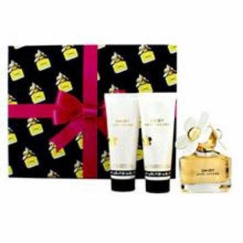 Marc Jacobs Daisy Coffret  Eau De Toilette Spray + Body Lotion + Shower Gel for Women