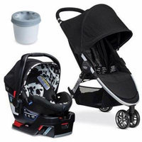 Britax B-Agile 3 B-Safe 35 Elite Travel System With Cup Holder - Cowmooflage