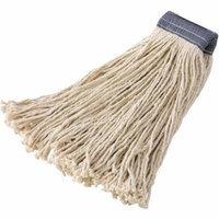 Rubbermaid Commercial Premium Cut-End Cotton Mops, White, 12 count