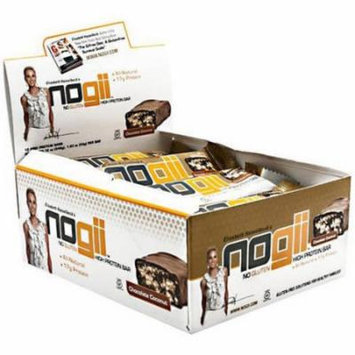NoGii Chocolate Coconut High Protein Bars, 1.9 oz, 12 count