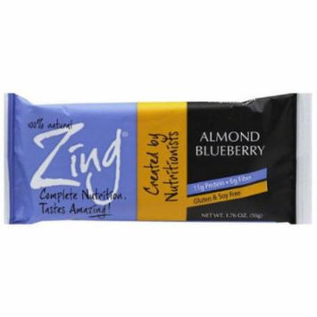 Zing Almond Blueberry Bars, 1.76 oz, 12 count