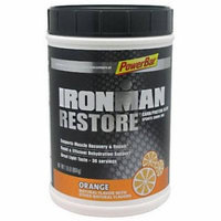 PowerBar IronMan Restore Carb/Protein Blend Orange Sports Drink Mix, 1.9 lbs