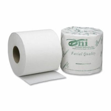 Skilcraft SKILCRAFT Single Roll 1-Ply Toilet Tissue Paper -NSN5303770