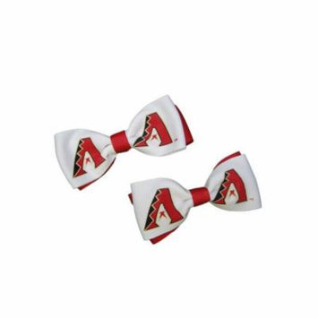 Arizona Diamondbacks Hair Bow Pair