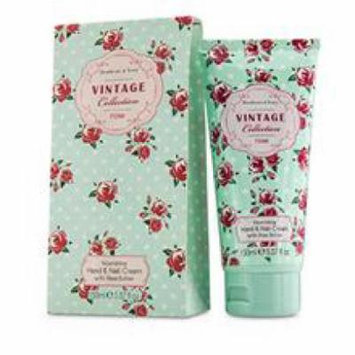 Healthcote & Ivory Vintage Rose Nourishing Hand & Nail Cream With Shea Butter For Women