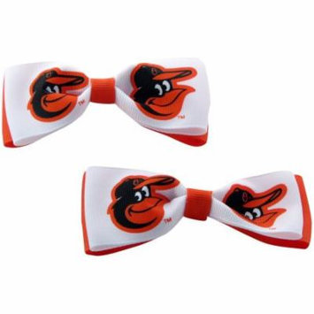 Baltimore Orioles Hair Bow Pair