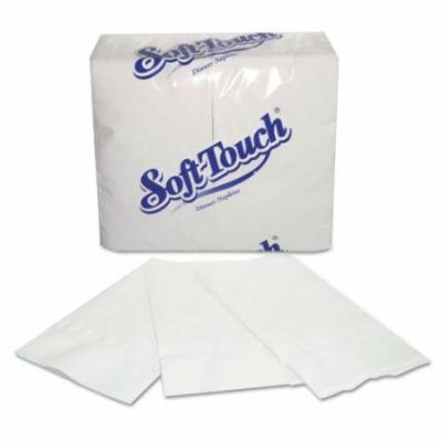 Paper Napkins, 2-Ply, White, 15 x 17, 3000/Carton