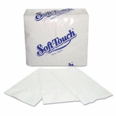 Paper Napkins, 2-Ply, White, 15 x 17, 3000/Carton