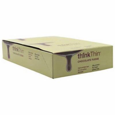 thinkThin Chocolate Fudge High Protein Bars, 2.1 oz, 10 count