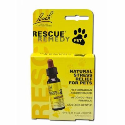 Bach Flower Remedies Rescue Remedy Stress Relief For Pets, 10 ML