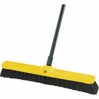 Rubbermaid Commercial Fine Floor Sweeper, Black, 12 count