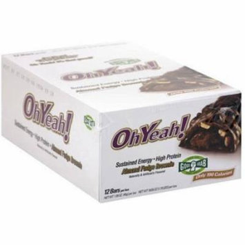 ISS OhYeah! Almond Fudge Brownie Protein Bars, 1.59 oz, 12 count