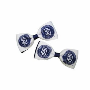 San Diego Padres Hair Bow Pair