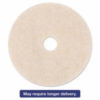3M Ultra High-Speed TopLine Floor Burnishing Pads 3200, 27-Inch, White/Amber, 5/CT