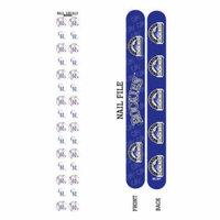 Bundle 2 Items: Colorado Rockies Nail File and Nail Sticker Decals
