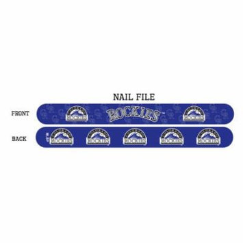 Colorado Rockies Nail File