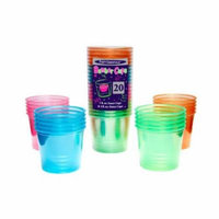 Party Essentials 4-Ounce Neon Bomber Cups