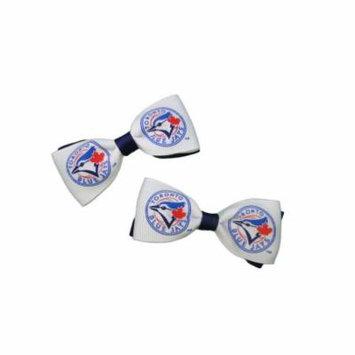 Toronto Blue Jays Hair Bow Pair