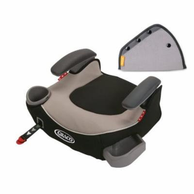 Graco Affix Backless Booster Car Seat with Seat Belt Adjuster, Pierce