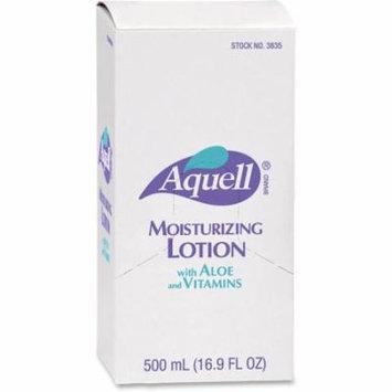 AQUELL Dispenser Moisturizing Skin Lotion - 16.91 fl oz - Pump Bottle Dispenser - Moisturising, Non-greasy, Residue-free