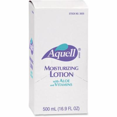 AQUELL Dispenser Moisturizing Skin Lotion - 16.91 fl oz - Pump Bottle Dispenser - Moisturising, Non-greasy, Residue-free